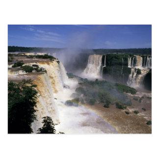 Iguacu Falls, Brazil Postcard