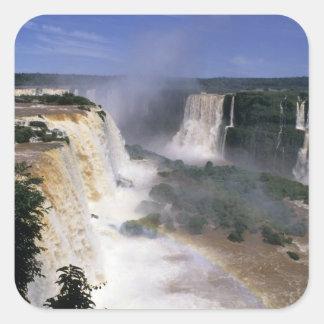 Iguacu Falls, Brazil Square Sticker