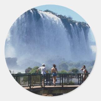 Iguacu Falls, Brazil Sticker