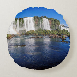 Iguacu Falls (Cataratas Do Iguacu) Round Pillow
