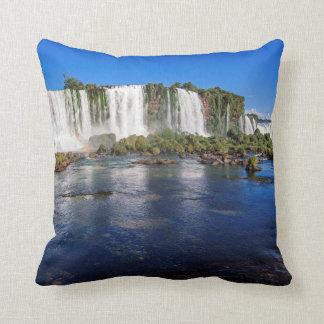 Iguacu Falls (Cataratas Do Iguacu) Throw Pillow