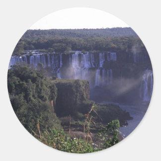 Iguacu Falls in Brazil and Argentina Sticker