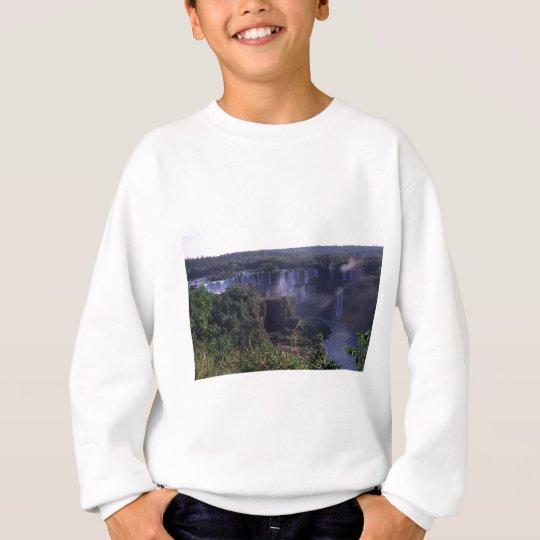 Iguacu Falls in Brazil and Argentina Sweatshirt