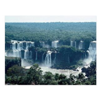 Iguacu Falls, Parana, Brazil Postcard