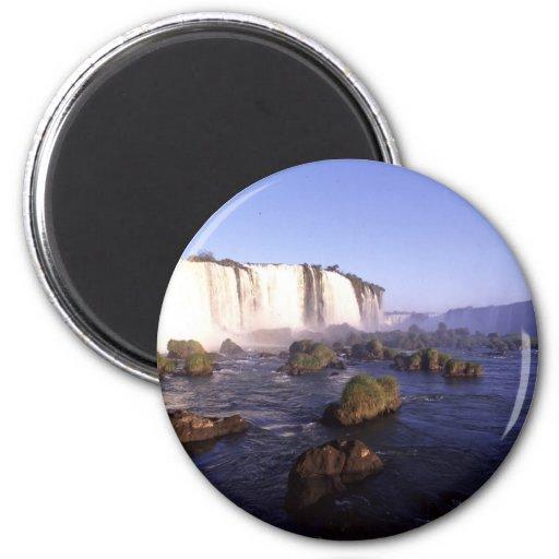 Iguacu Water Falls Brazil Fridge Magnet