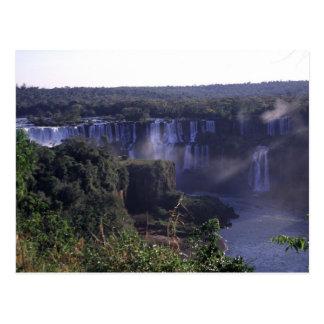 Iguacu Waterfalls, Brazil and Argentina, Postcard