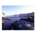 Iguacu Waterfalls, Brazil and Argentina Postcard