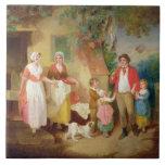 Igualación, 1799 (aceite en lona) azulejos