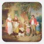 Igualación, 1799 (aceite en lona) calcomanías cuadradases