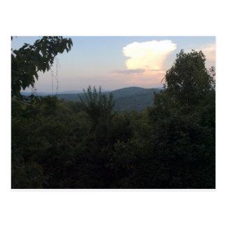 Igualación de la gran montaña ahumada Vista Tarjetas Postales