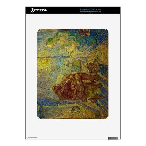 Igualación - el reloj de Vincent van Gogh Skins Para iPad