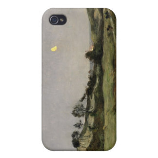 Igualación sobre las dunas de Equihen iPhone 4/4S Funda