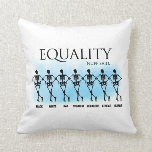 Igualdad Almohadas