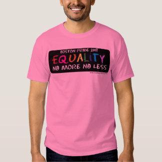 Igualdad básica camisas