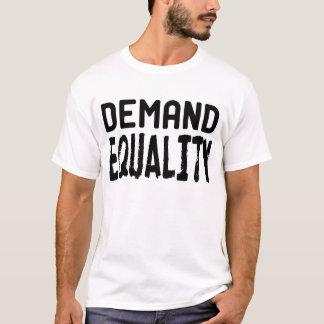 Igualdad de la demanda - donación 100% OWS Playera