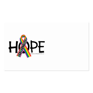 Igualdad de la ESPERANZA LGBT Tarjeta De Visita