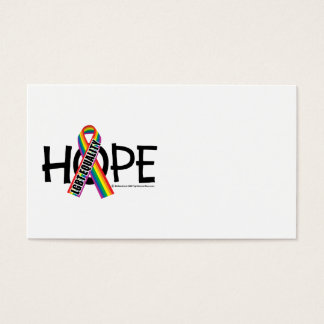 Igualdad de la ESPERANZA LGBT Tarjetas De Visita