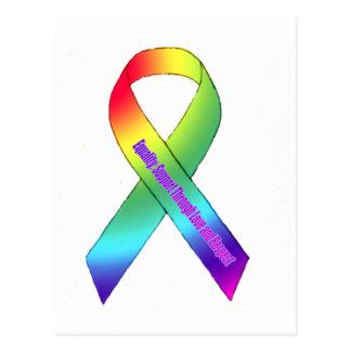 Igualdad del arco iris postales