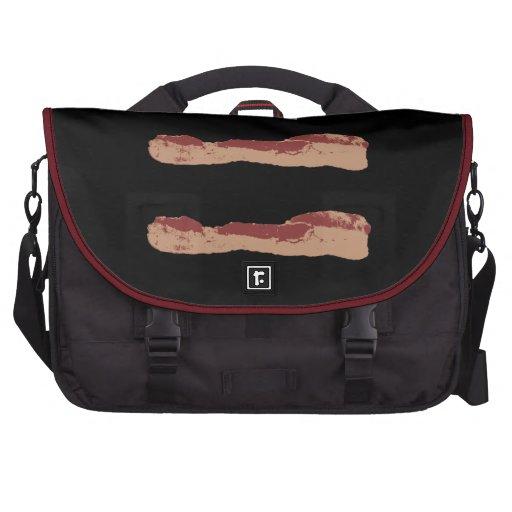 Igualdad del tocino bolsas de portátil