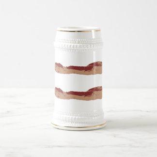 Igualdad del tocino jarra de cerveza