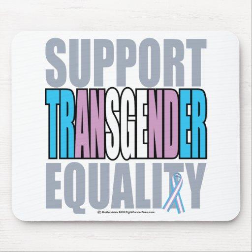 Igualdad del transexual de la ayuda alfombrilla de raton