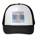 Igualdad del transexual de la ayuda gorras de camionero