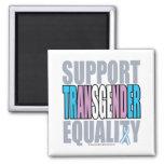 Igualdad del transexual de la ayuda imán