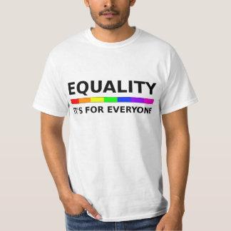 Igualdad - está para cada uno remera
