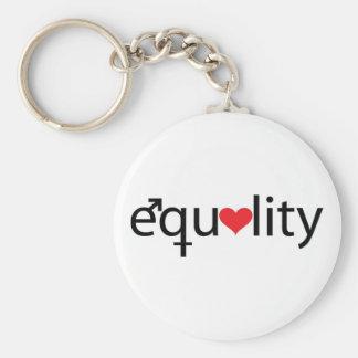 Igualdad Llaveros Personalizados