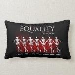Igualdad. 'Nuff dijo Almohada