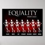 Igualdad. 'Nuff dijo Impresiones