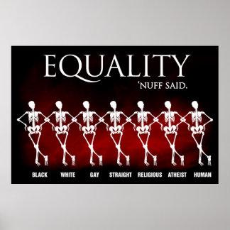 Igualdad. 'Nuff dijo Póster
