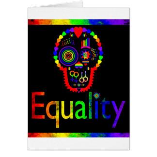 Igualdad para cada uno - incluso los muertos tarjeta de felicitación