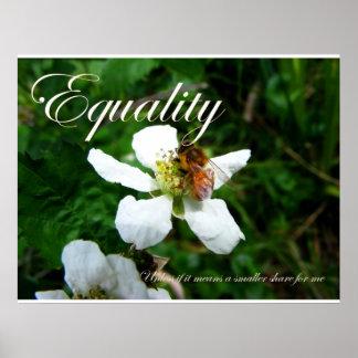 Igualdad Póster