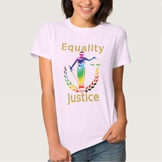 Igualdad y justicia playeras