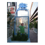 Iguana azul - vertical postales