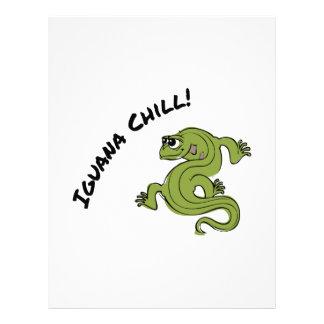Iguana Chill Letterhead Design