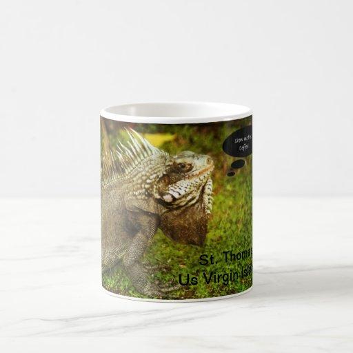 Iguana coffe mug