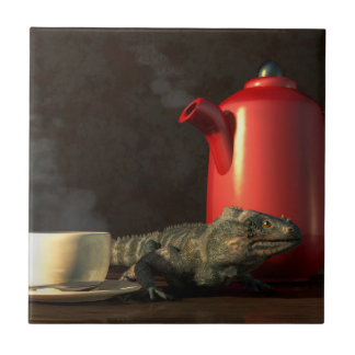 Iguana Coffee Tile