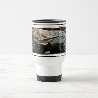 Iguana curiosa; Calendario 2012 Taza De Café