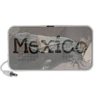 Iguana curiosa; Recuerdo de México Mp3 Altavoces