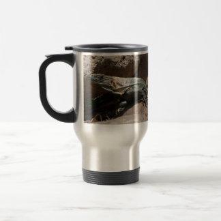 Iguana curiosa tazas de café