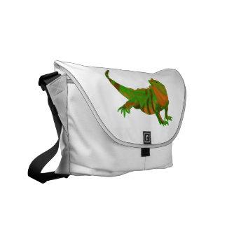 Iguana de Costa Rica Bolsas Messenger
