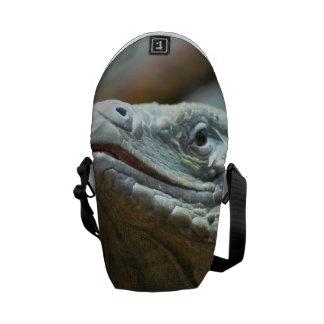 Iguana de Gran Caimán Bolsas De Mensajería