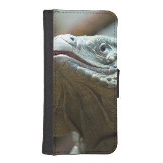 Iguana de Gran Caimán Fundas Cartera Para Teléfono