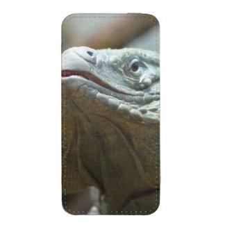 Iguana de Gran Caimán Funda Acolchada Para Móvil