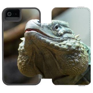 Iguana de Gran Caimán Funda Cartera Para iPhone 5 Watson