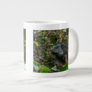 Iguana de la selva taza jumbo