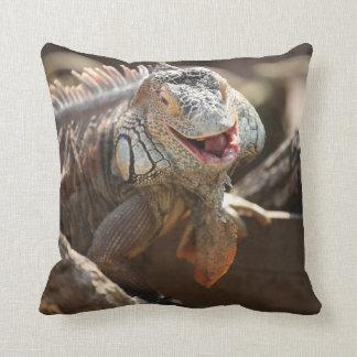 Iguana de risa cojín