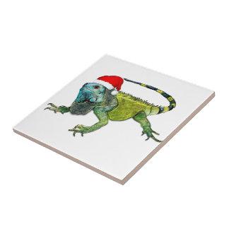 Iguana de Santa Azulejo Ceramica